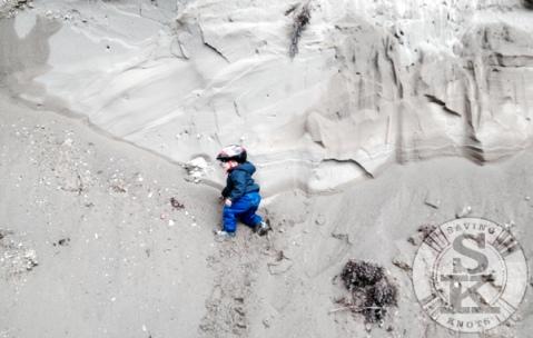 nipika mountain resort - climbing sand