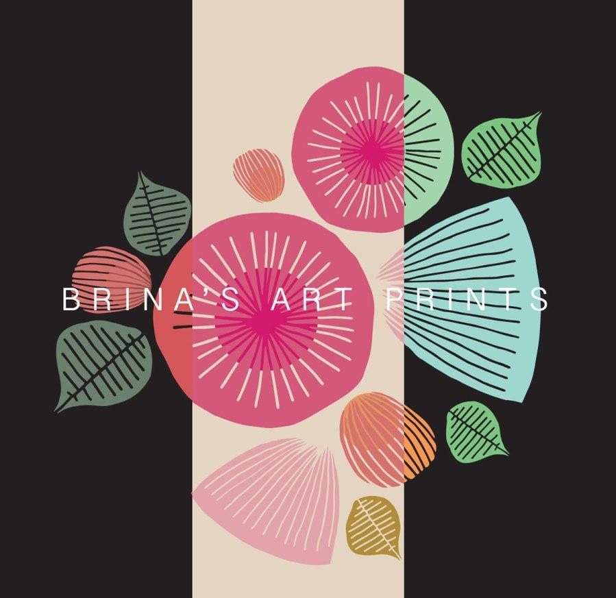 Brina Schenk and Friends Art Prints - Easy Shop - Illustrated Artwork